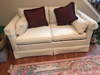 white fabric 2-seat sofa Fort Washington, 20744