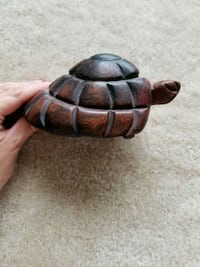 Hand carved wooden turtle Rockville, 20852