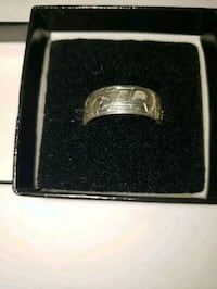 silver ring, wolf design Surrey, V3S 2K2