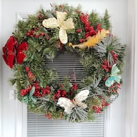 Christmas Wreath large  Oshawa, L1J 4Z8