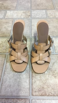 Nine West Leather Mule size 8 Barrie