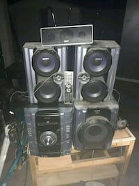Sony CD and VHS player hifi stero