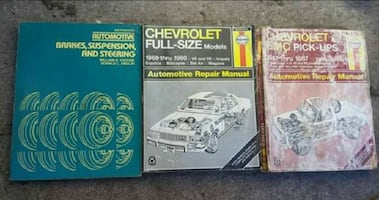 Automotive manuals