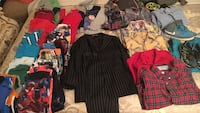 Kids assorted clothes age 4-6 used all for $15 obo