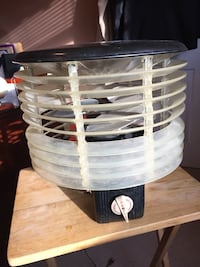 REDUCED VINTAGE WELCH AIR FLIGHT HASSOCK FAN - ROUND $25 Huntersville, 28078