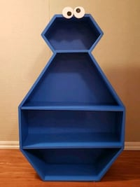 Cookie Monster Bookcase(New,Wood, Hand-crafted) Pleasantville, 10570