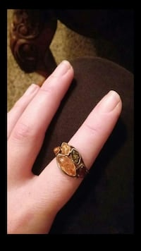 Sterling silver ring with all 4 types of amber Las Vegas, 89121