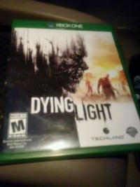 Xbox One Dying Light game case Hamilton, 45013