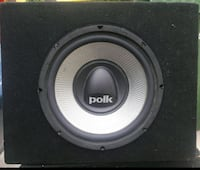 Polk audio sub  Los Angeles, 90032