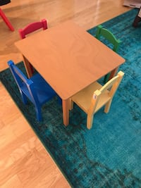Kids Table and Chairs Alexandria