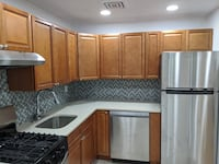 Brand new solid wood kitchen cabinets
