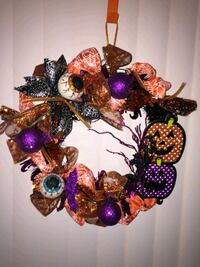 Halloween wreath Rockford, 61107