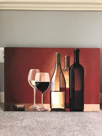 Wine Canvas (3) Wall Decor Fairfax, 22030