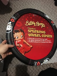 Betty Boop steering wheel cover Surrey, V4N 5J4