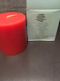 Partylite 3x3 pillar candle