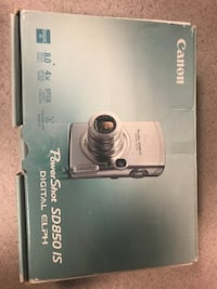 Cannon Powershot ELPH SD850 IS 8.0 MP Compact Digital Camera