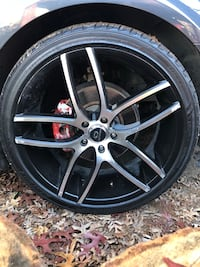 22 inch Lorenzo wheels and tire with 2 spares