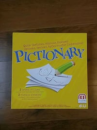 Pictionary board game new Edmonton, T6E 2J4