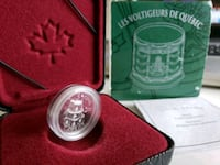 2000 RCM Quebec First Regiment 5cents 92.5 Silver  Calgary, T2R
