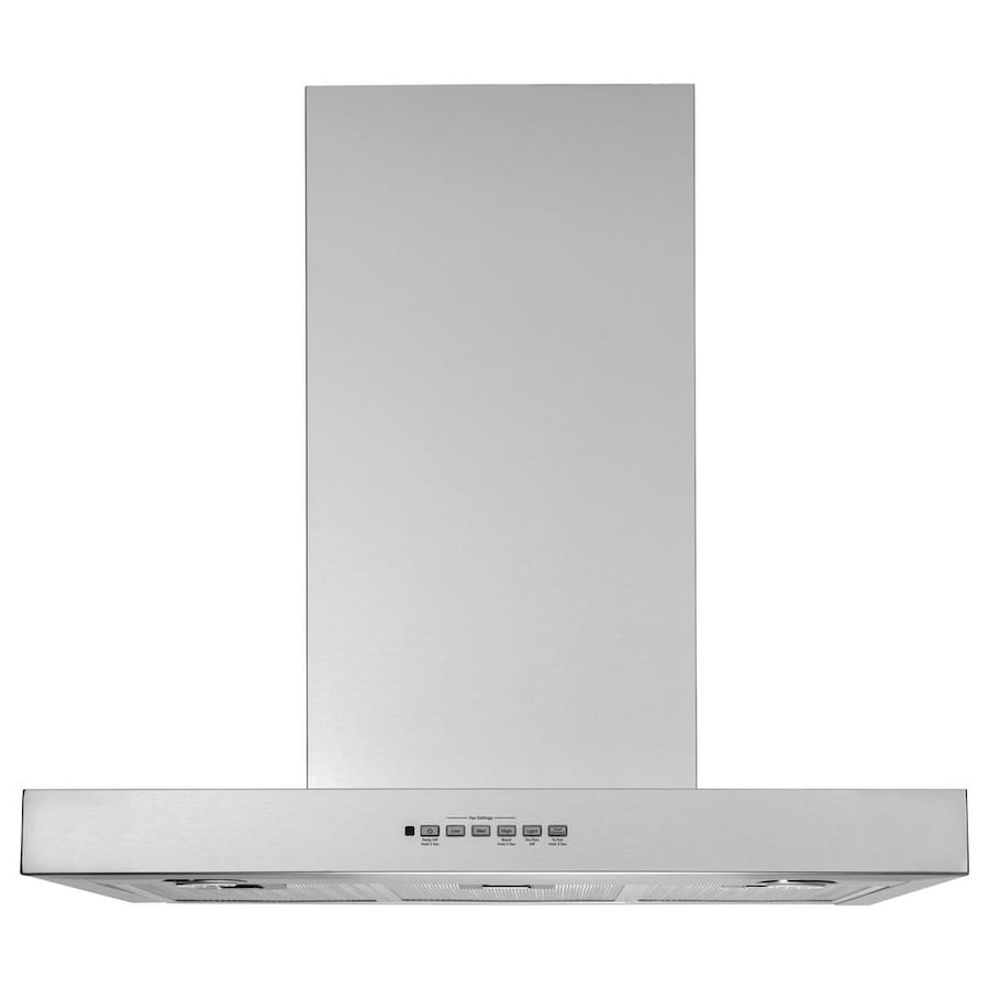 Profile 30 in. Wall Mount Range Hood with LED Light in Stainless Steel