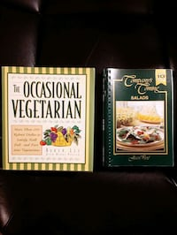 6 cookbooks  Hamilton, L8P 3E7