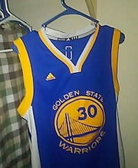 Stephen Curry Adidas Golden State Warriors away jersey shirt