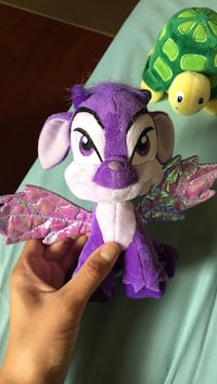 Purple neopet plush toy Vancouver