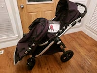 baby's black and purple stroller Surrey, V4N 0A4
