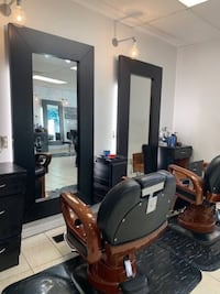 2 Barber Chairs and 2 Floor Mats Somerville, 02143