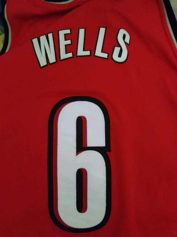 Bonzi Wells authentic jersey 1