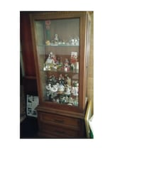 LARGE CURIO CABINET/DISPLAY CASE Cherry Hill, 08002