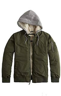 Hollister Green Bomber Jacket (Medium) San Pablo, 94806