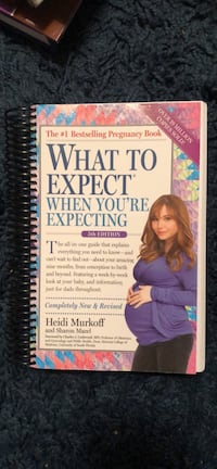 "Like new ""What to Expect When You're Expecting"" book"