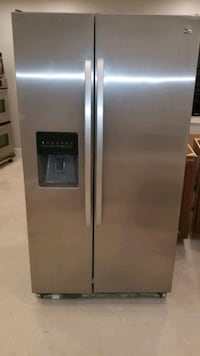 Kenmore Stainless Steel Side-by-Side Refrgerator Washington, 20017