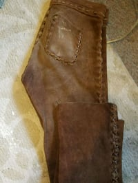 Real handmade leather /suede pants Medford, 97501
