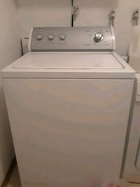 white top-load clothes washer Lynnwood, 98037