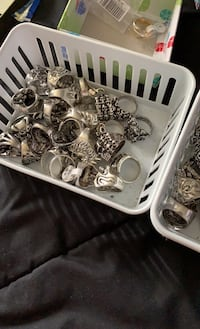 Men new all size and style heavy skull rings cheap Virginia Beach, 23452