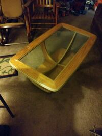 Glass table use