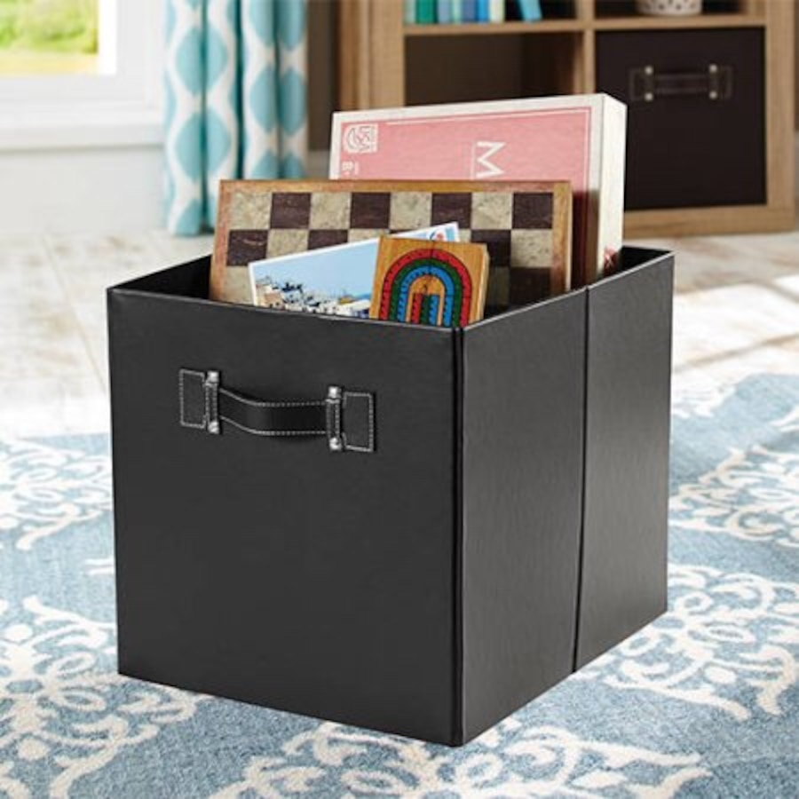 Used 8 Cube Organizers Shelves With 4 Collapsible Fabric