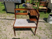 Vintage Mid-Century Telephone Chair/Bench