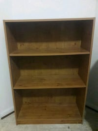 Walnut colored bookshelf Lanham, 20706