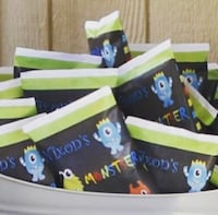Personalized party favors Darby