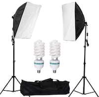 2 Softbox Photo/Video Lights 528 km