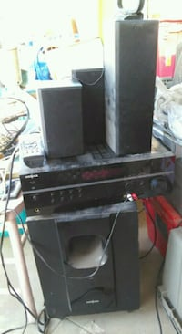 black and gray home theater system Bakersfield, 93309