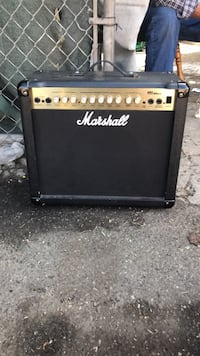 black and gray Marshall guitar amplifier Lynwood, 90262