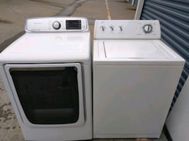 Whirlpool whaser and Samsung dryer