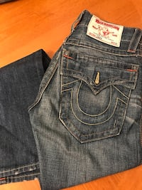 blue True Religion denim bottoms Buffalo, 14215