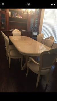 Off white formal dining set