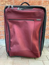 *** URGENT Luggage Burgundy Dark Red Toronto, M1E 5B8