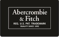 Abercrombie and Fitch Credit ($200 total value)